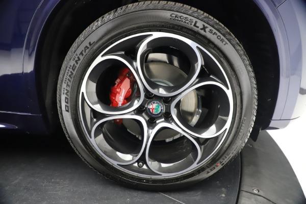 New 2021 Alfa Romeo Stelvio Ti Sport Q4 for sale $55,700 at Pagani of Greenwich in Greenwich CT 06830 26
