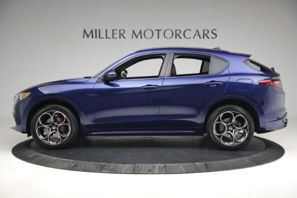 New 2021 Alfa Romeo Stelvio Ti Sport Q4 for sale $55,700 at Pagani of Greenwich in Greenwich CT 06830 3