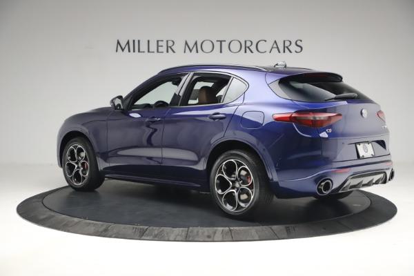 New 2021 Alfa Romeo Stelvio Ti Sport Q4 for sale $55,700 at Pagani of Greenwich in Greenwich CT 06830 4