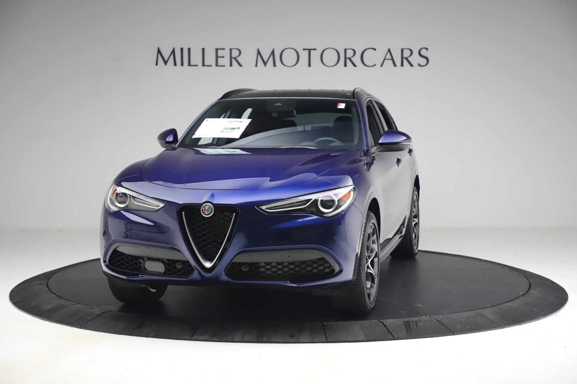 New 2021 Alfa Romeo Stelvio Ti Sport Q4 for sale $55,700 at Pagani of Greenwich in Greenwich CT 06830 1