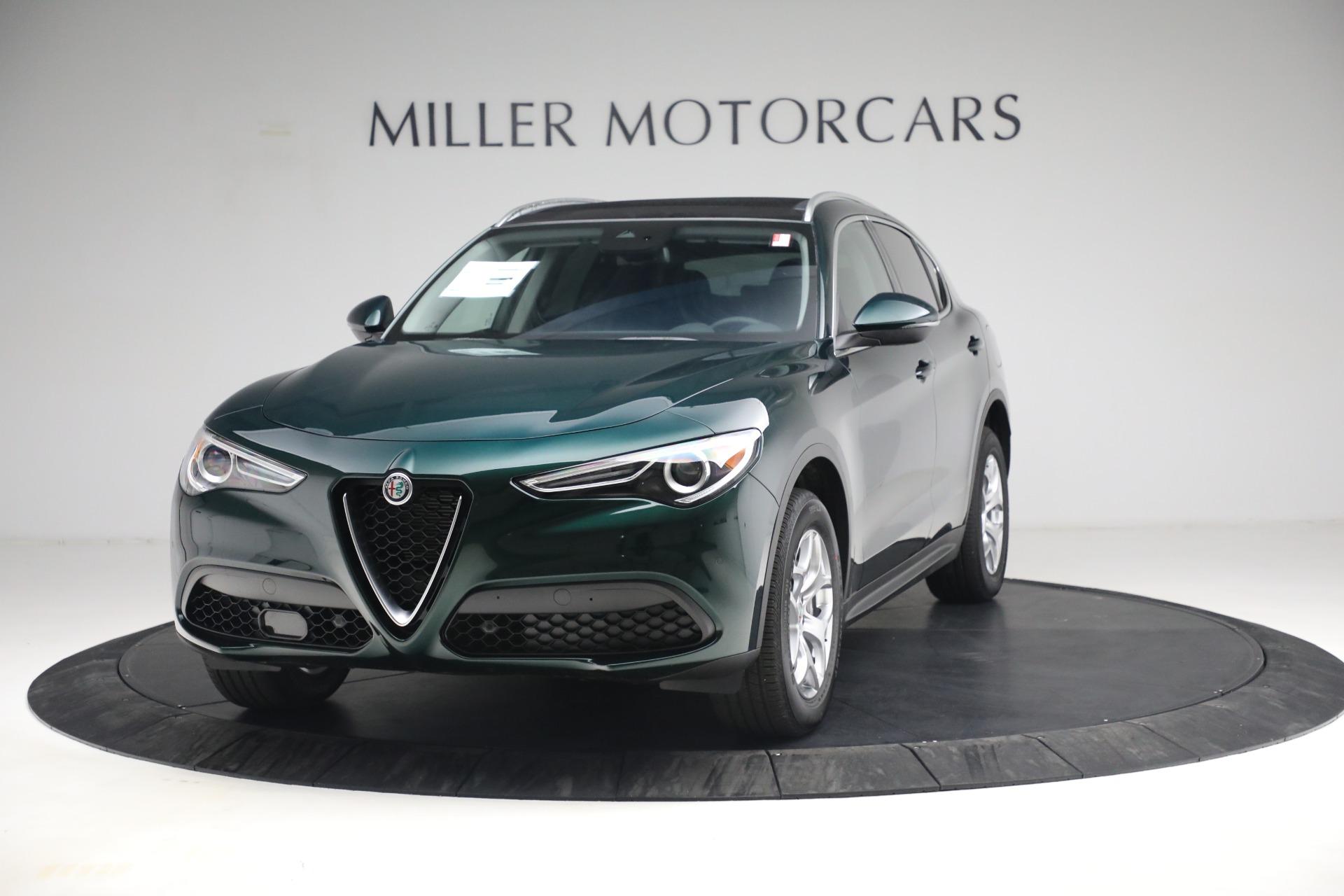 New 2021 Alfa Romeo Stelvio Q4 for sale $50,445 at Pagani of Greenwich in Greenwich CT 06830 1