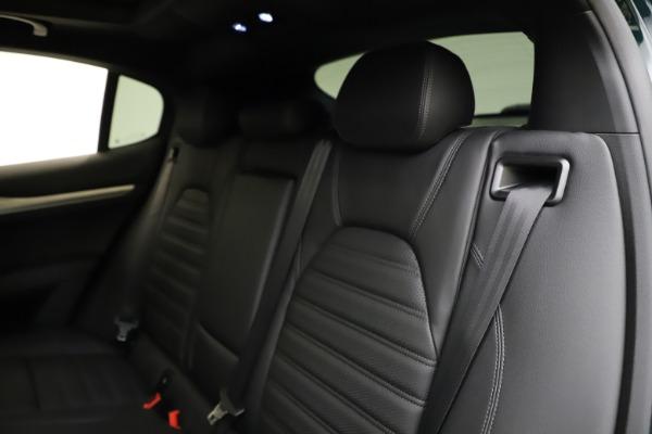 New 2021 Alfa Romeo Stelvio Ti Sport Q4 for sale $57,200 at Pagani of Greenwich in Greenwich CT 06830 19