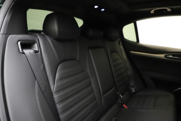New 2021 Alfa Romeo Stelvio Ti Sport Q4 for sale $57,200 at Pagani of Greenwich in Greenwich CT 06830 27