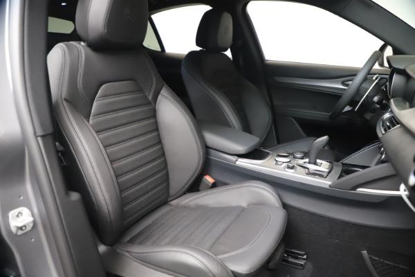 New 2021 Alfa Romeo Stelvio Ti Sport Q4 for sale Sold at Pagani of Greenwich in Greenwich CT 06830 21