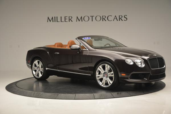 Used 2013 Bentley Continental GTC V8 for sale Sold at Pagani of Greenwich in Greenwich CT 06830 10