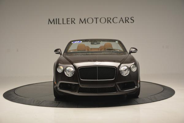 Used 2013 Bentley Continental GTC V8 for sale Sold at Pagani of Greenwich in Greenwich CT 06830 12