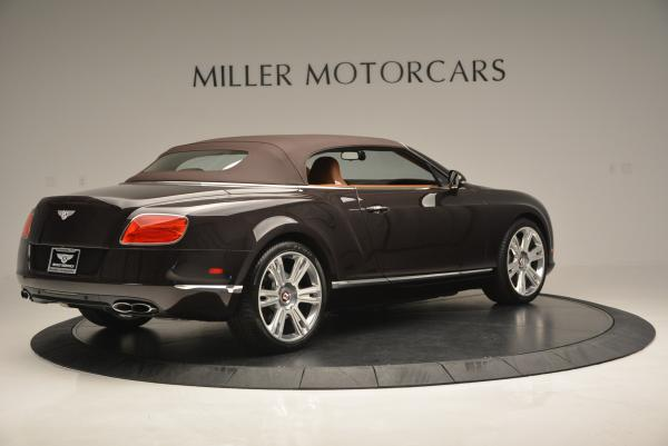 Used 2013 Bentley Continental GTC V8 for sale Sold at Pagani of Greenwich in Greenwich CT 06830 21