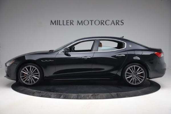 New 2021 Maserati Ghibli S Q4 for sale Call for price at Pagani of Greenwich in Greenwich CT 06830 3
