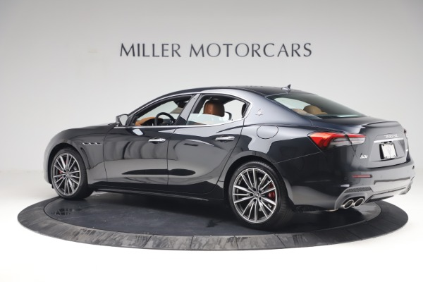 New 2021 Maserati Ghibli S Q4 for sale Call for price at Pagani of Greenwich in Greenwich CT 06830 4