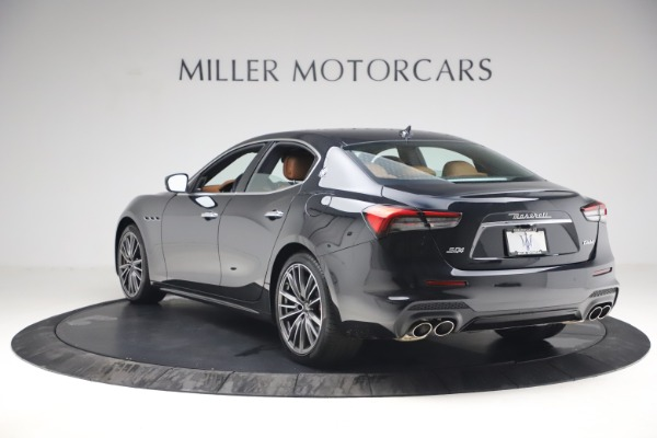 New 2021 Maserati Ghibli S Q4 for sale Call for price at Pagani of Greenwich in Greenwich CT 06830 5