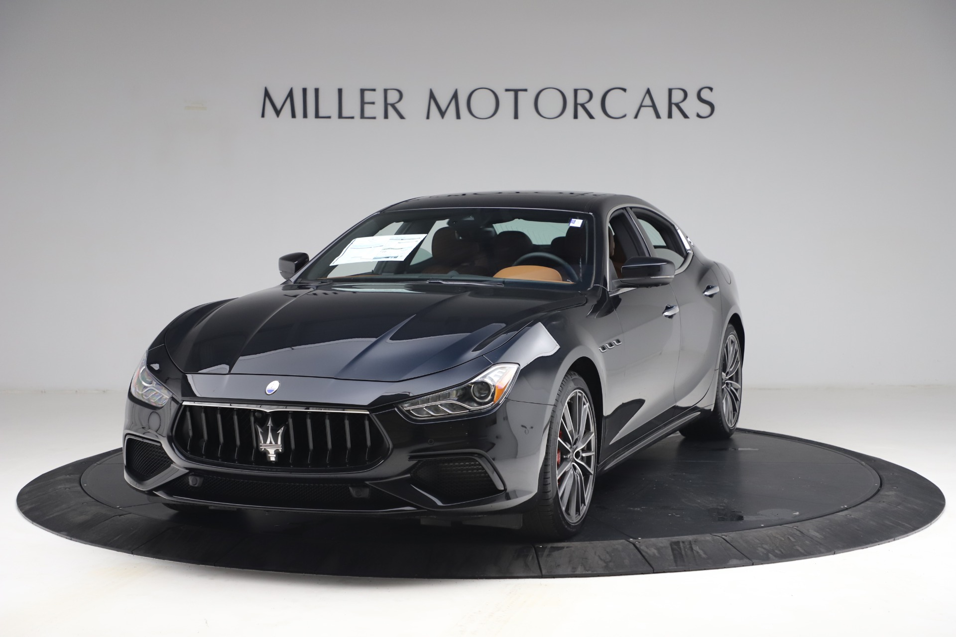 New 2021 Maserati Ghibli S Q4 for sale Call for price at Pagani of Greenwich in Greenwich CT 06830 1