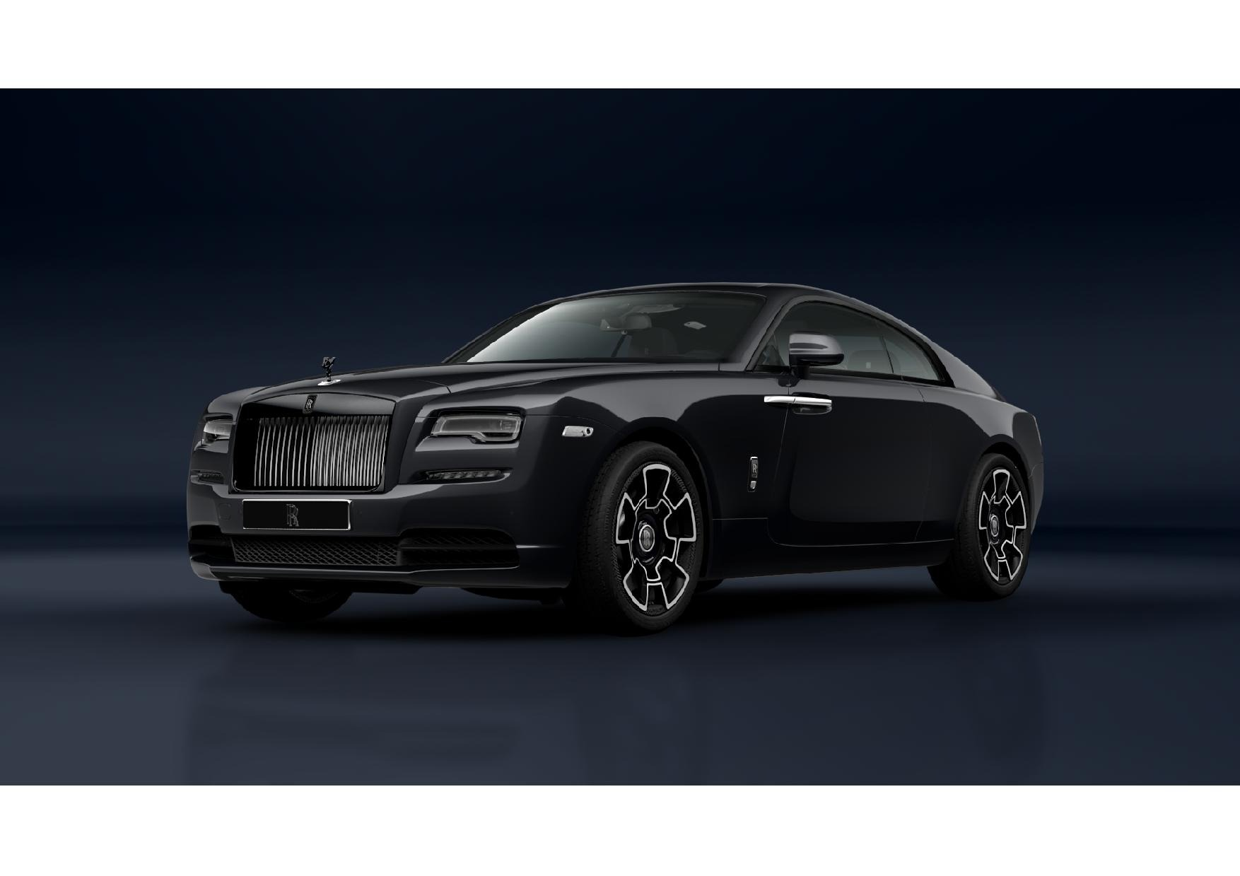 New 2021 Rolls-Royce Wraith Black Badge for sale Call for price at Pagani of Greenwich in Greenwich CT 06830 1