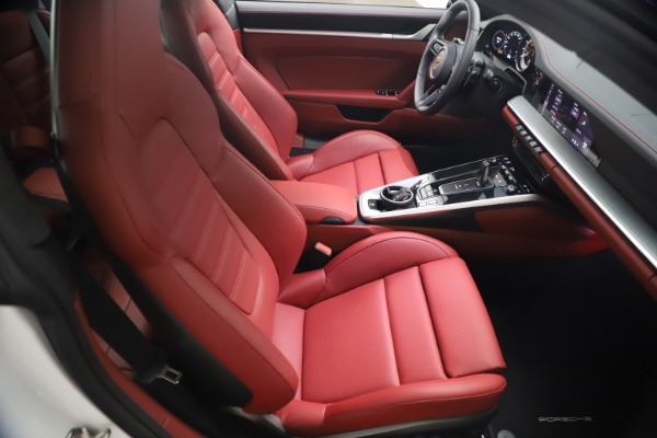 Used 2021 Porsche 911 Turbo S for sale Sold at Pagani of Greenwich in Greenwich CT 06830 17