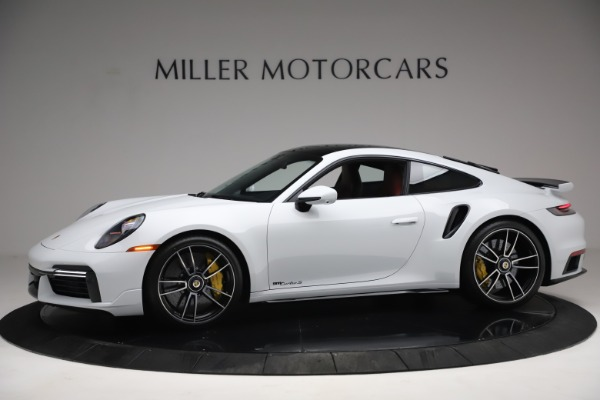 Used 2021 Porsche 911 Turbo S for sale Sold at Pagani of Greenwich in Greenwich CT 06830 2