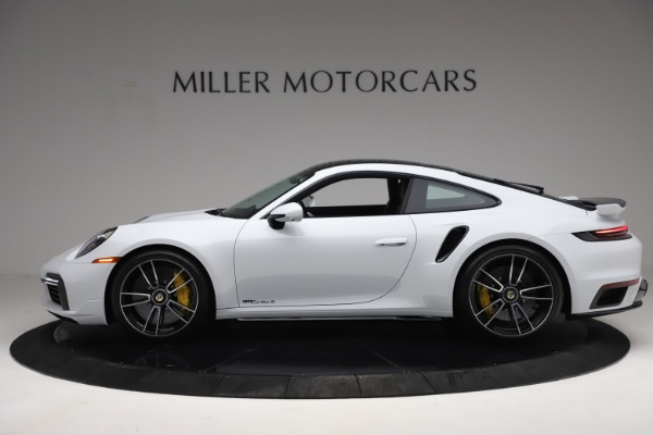 Used 2021 Porsche 911 Turbo S for sale Sold at Pagani of Greenwich in Greenwich CT 06830 3