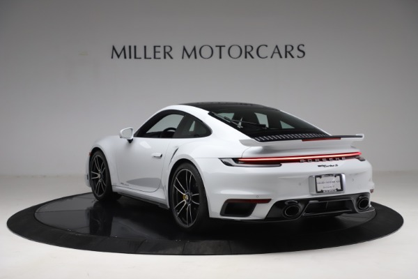 Used 2021 Porsche 911 Turbo S for sale Sold at Pagani of Greenwich in Greenwich CT 06830 5
