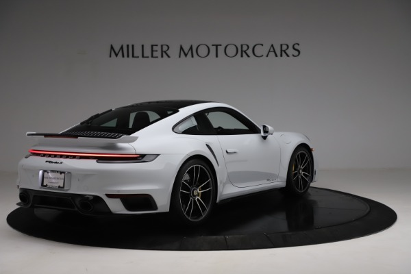 Used 2021 Porsche 911 Turbo S for sale Sold at Pagani of Greenwich in Greenwich CT 06830 7