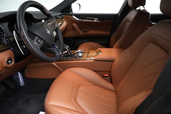 New 2021 Maserati Quattroporte S Q4 GranLusso for sale Call for price at Pagani of Greenwich in Greenwich CT 06830 15