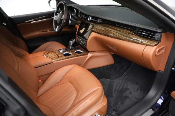 New 2021 Maserati Quattroporte S Q4 GranLusso for sale Call for price at Pagani of Greenwich in Greenwich CT 06830 22