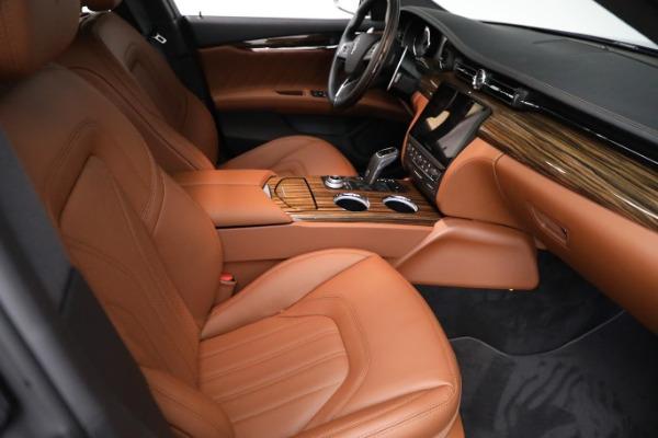 New 2021 Maserati Quattroporte S Q4 GranLusso for sale Call for price at Pagani of Greenwich in Greenwich CT 06830 23