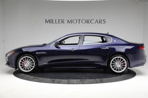 New 2021 Maserati Quattroporte S Q4 GranLusso for sale Call for price at Pagani of Greenwich in Greenwich CT 06830 3