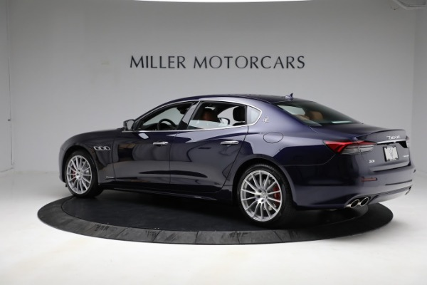 New 2021 Maserati Quattroporte S Q4 GranLusso for sale Call for price at Pagani of Greenwich in Greenwich CT 06830 4
