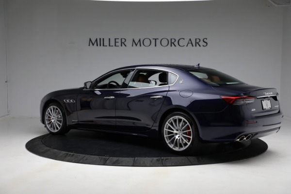 New 2021 Maserati Quattroporte S Q4 GranLusso for sale Call for price at Pagani of Greenwich in Greenwich CT 06830 5
