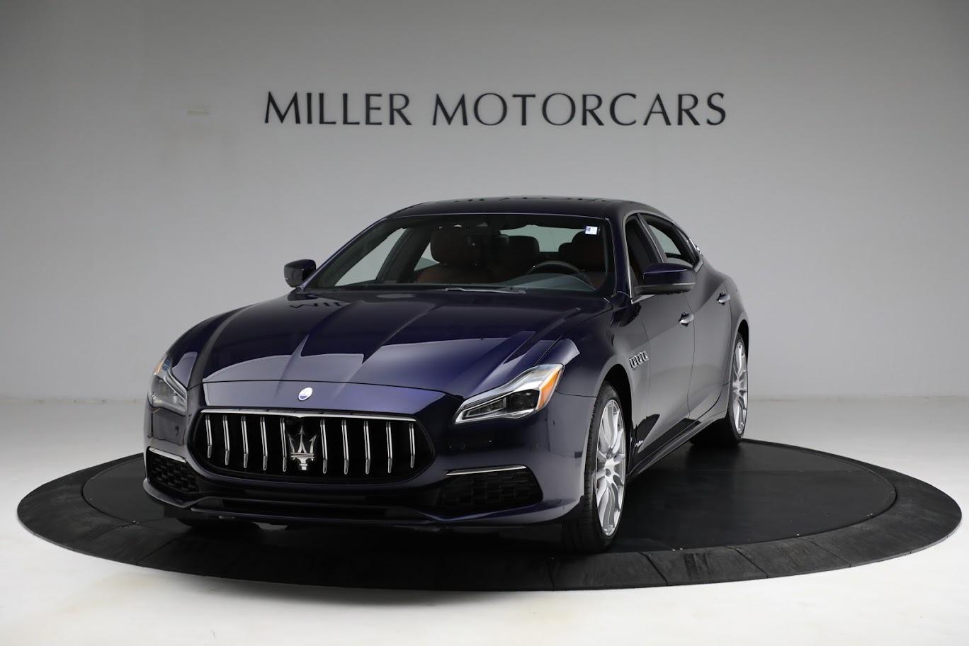 New 2021 Maserati Quattroporte S Q4 GranLusso for sale Call for price at Pagani of Greenwich in Greenwich CT 06830 1