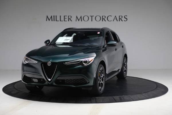 New 2021 Alfa Romeo Stelvio Ti Sport Q4 for sale $58,500 at Pagani of Greenwich in Greenwich CT 06830 1