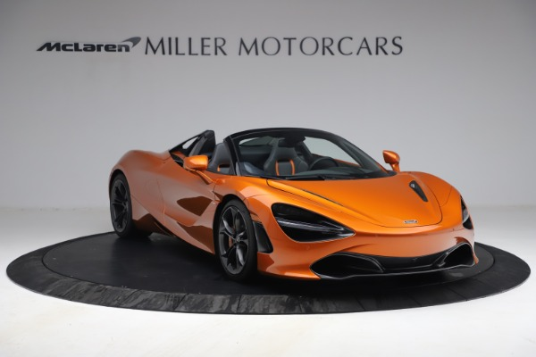 Used 2020 McLaren 720S Spider for sale $335,900 at Pagani of Greenwich in Greenwich CT 06830 11