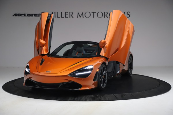Used 2020 McLaren 720S Spider for sale $335,900 at Pagani of Greenwich in Greenwich CT 06830 13