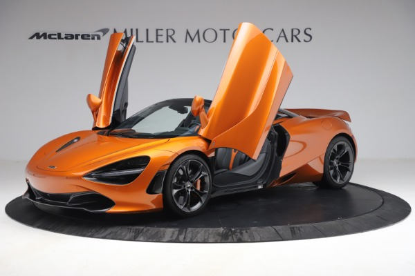 Used 2020 McLaren 720S Spider for sale $335,900 at Pagani of Greenwich in Greenwich CT 06830 14