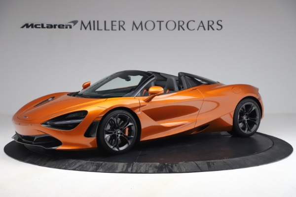 Used 2020 McLaren 720S Spider for sale $335,900 at Pagani of Greenwich in Greenwich CT 06830 2