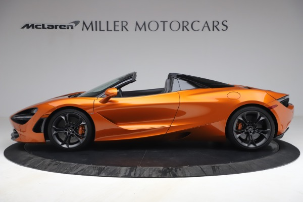 Used 2020 McLaren 720S Spider for sale $335,900 at Pagani of Greenwich in Greenwich CT 06830 3