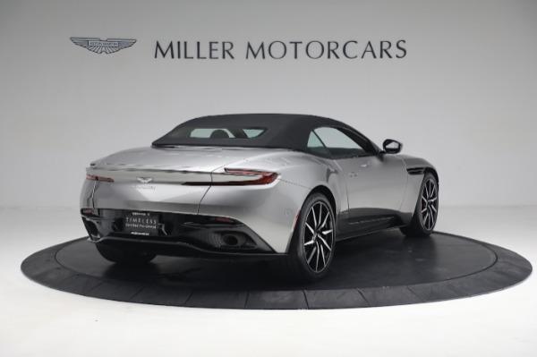Used 2019 Aston Martin DB11 Volante for sale $209,900 at Pagani of Greenwich in Greenwich CT 06830 16