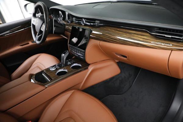 New 2021 Maserati Quattroporte S Q4 for sale Sold at Pagani of Greenwich in Greenwich CT 06830 22