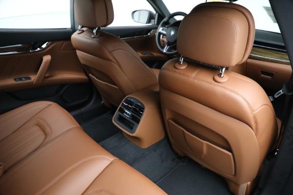 New 2021 Maserati Quattroporte S Q4 for sale Sold at Pagani of Greenwich in Greenwich CT 06830 25