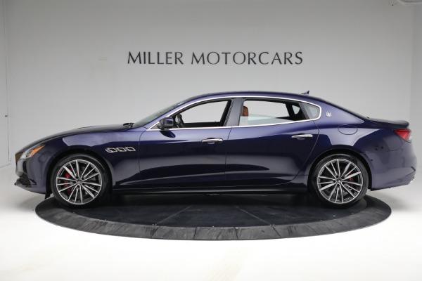 New 2021 Maserati Quattroporte S Q4 for sale Sold at Pagani of Greenwich in Greenwich CT 06830 3