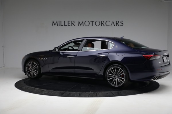 New 2021 Maserati Quattroporte S Q4 for sale Sold at Pagani of Greenwich in Greenwich CT 06830 4