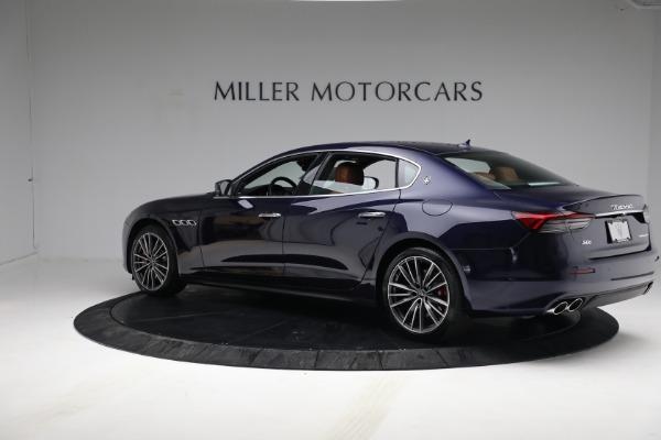 New 2021 Maserati Quattroporte S Q4 for sale Sold at Pagani of Greenwich in Greenwich CT 06830 5