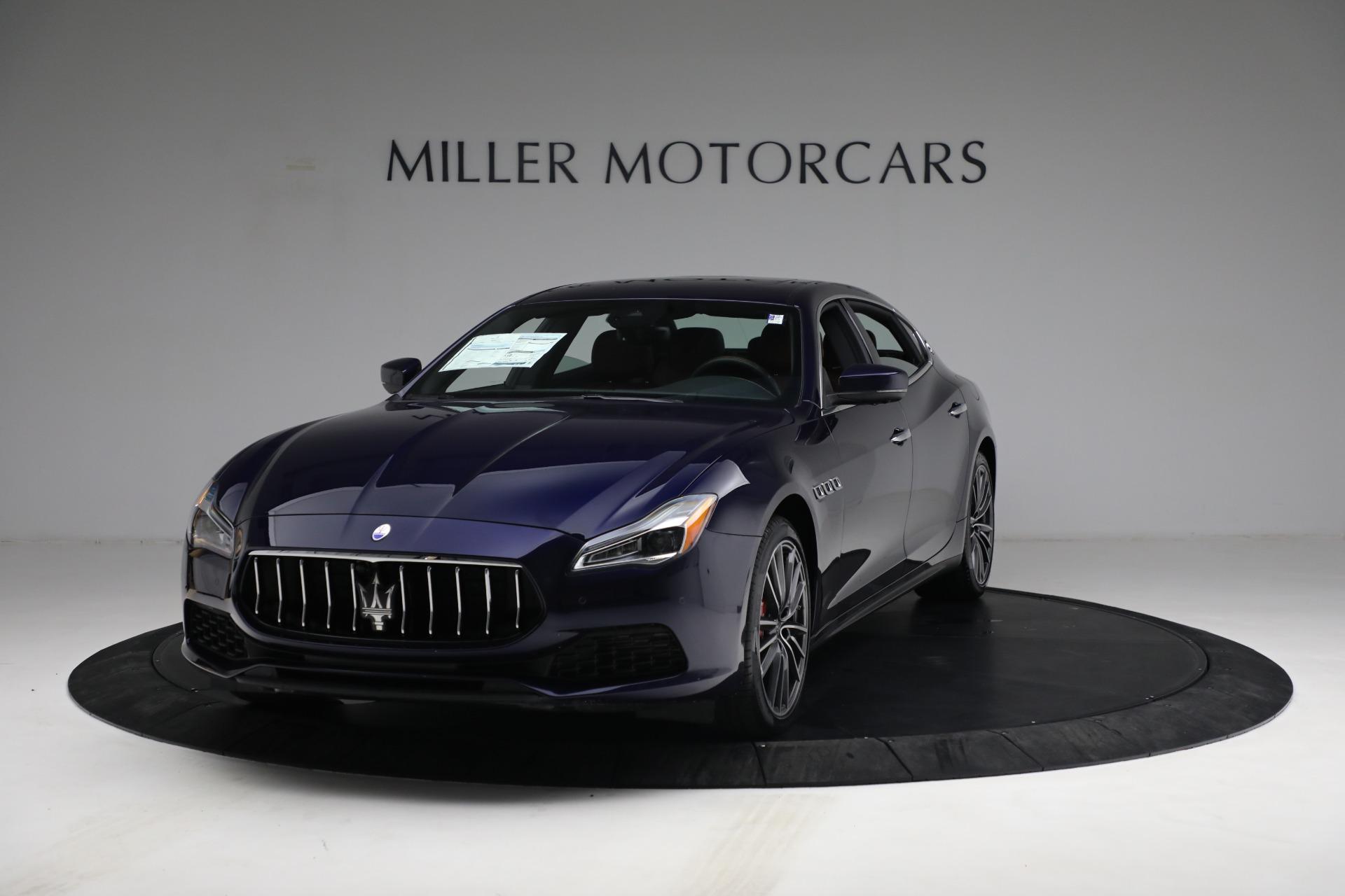 New 2021 Maserati Quattroporte S Q4 for sale $121,749 at Pagani of Greenwich in Greenwich CT 06830 1