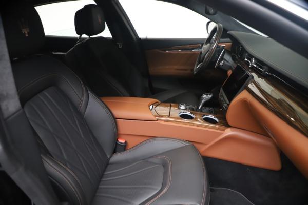 New 2021 Maserati Quattroporte S Q4 GranLusso for sale $129,135 at Pagani of Greenwich in Greenwich CT 06830 19