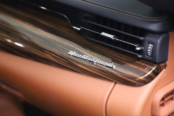 New 2021 Maserati Quattroporte S Q4 GranLusso for sale $129,135 at Pagani of Greenwich in Greenwich CT 06830 21