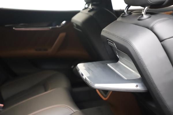 New 2021 Maserati Quattroporte S Q4 GranLusso for sale $129,135 at Pagani of Greenwich in Greenwich CT 06830 26