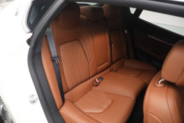 New 2021 Maserati Quattroporte S Q4 GranLusso for sale $120,599 at Pagani of Greenwich in Greenwich CT 06830 21