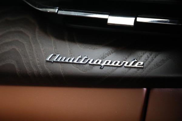 New 2021 Maserati Quattroporte S Q4 GranLusso for sale $120,599 at Pagani of Greenwich in Greenwich CT 06830 22