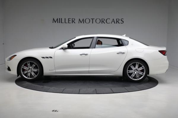 New 2021 Maserati Quattroporte S Q4 GranLusso for sale $120,599 at Pagani of Greenwich in Greenwich CT 06830 3