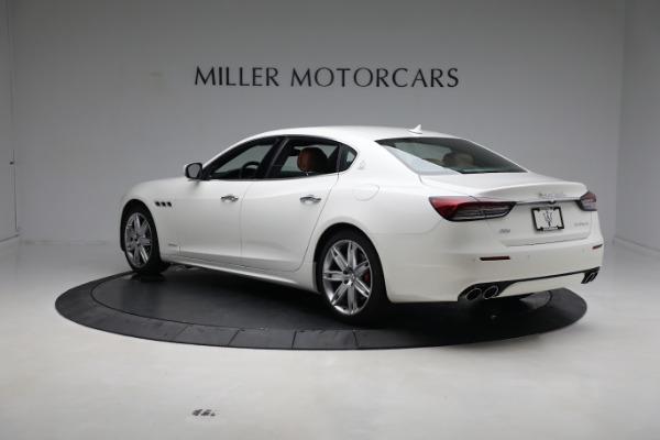 New 2021 Maserati Quattroporte S Q4 GranLusso for sale $120,599 at Pagani of Greenwich in Greenwich CT 06830 5