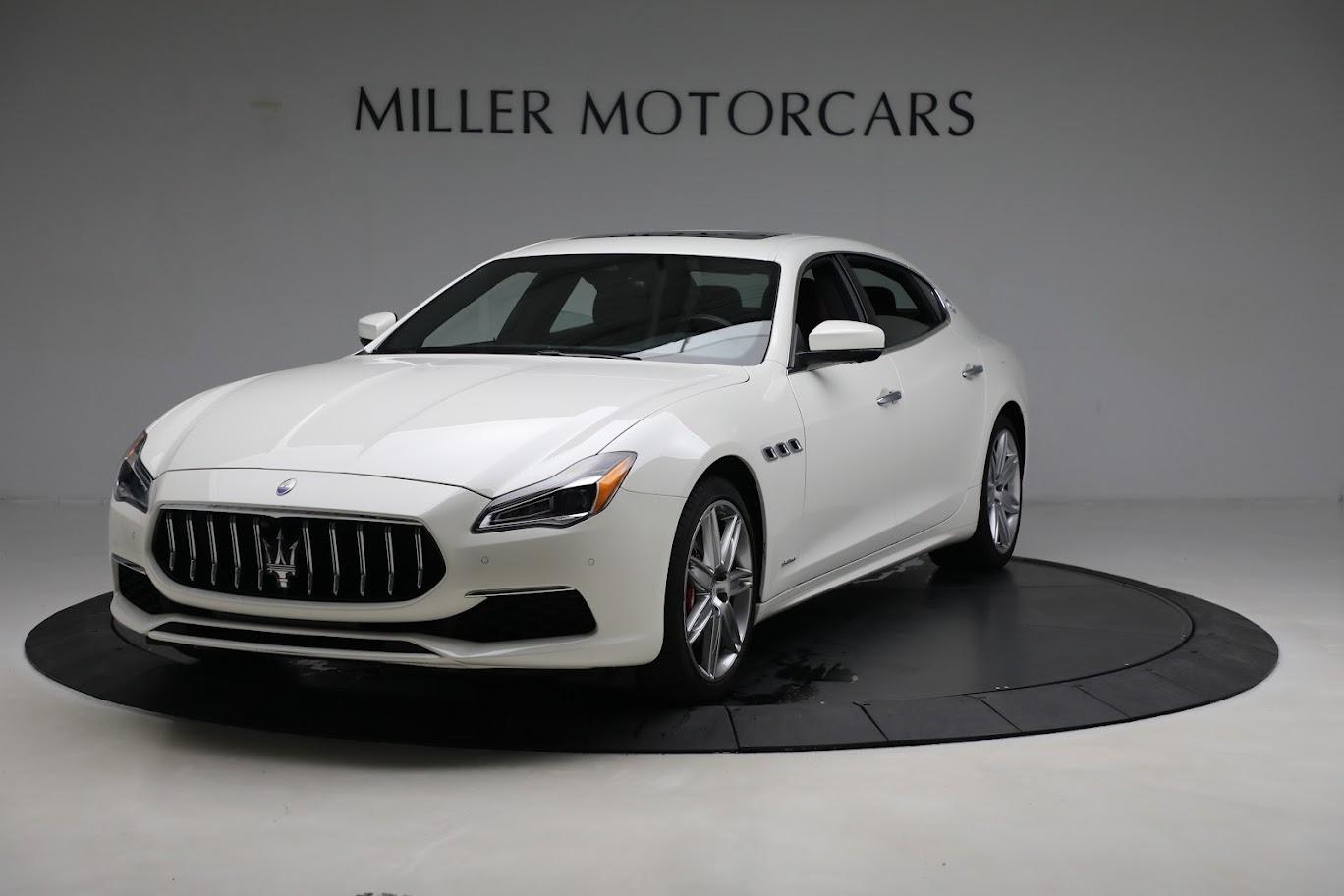 New 2021 Maserati Quattroporte S Q4 GranLusso for sale $120,599 at Pagani of Greenwich in Greenwich CT 06830 1
