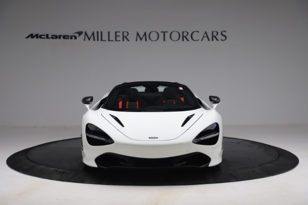 New 2021 McLaren 720S Spider for sale $366,670 at Pagani of Greenwich in Greenwich CT 06830 10